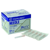 Needles, Hypodermic extra fine 26.5 Gauge