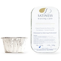 Satiness Hard Wax with Azulen 1lb (Block) Strip-less wax