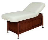 Clinician Manual Hydraulic Lift Assist Backrest Top by Oakworks