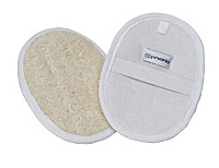 Loofah Oval Pad (One Side Terry)
