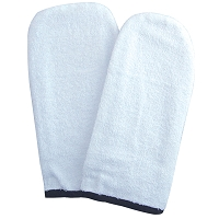 Terry cloth Mitts