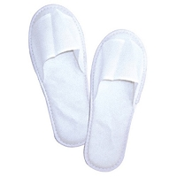 Spa Slippers White with non skid foam