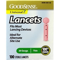 Lancets, Plastic with cover  26G