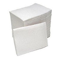 Water Resistant tissue/poly-backed towels 500/pk