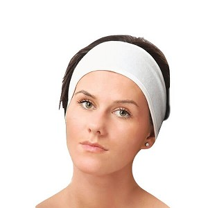 Terry Head band Velour with velcro 3/pk