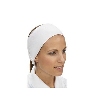 Stretch Head band with velcro 1/pk