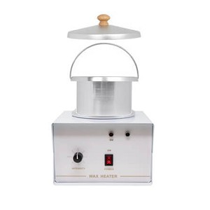 Single wax warmer w/container & lid