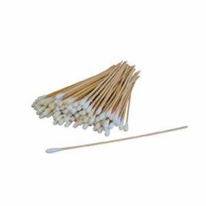 "Cotton Swabs Wooden Handles - Lenght 6"" - 1000 /pk"