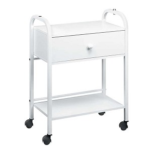 TS-2 Auxiliary table with 2 shelves & Drawer - by Equipro