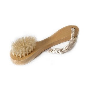 Face Brush (Wooden Handle)
