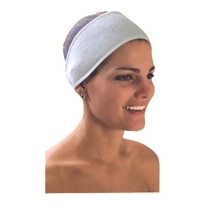 Terry Head band with velcro 3/pk