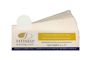 "Honeycombed wax strip 3""x9"" 100/pk"