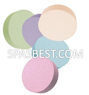 Extra Soft Mud Mask Sponges Mousseline 2/PK