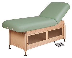 Clinician Electric-Hydraulic Lift-Assist Backrest Top by Oakworks