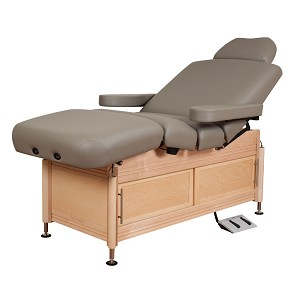 Clinician Electric-Hydraulic Lift-Assist Salon Top by Oakworks