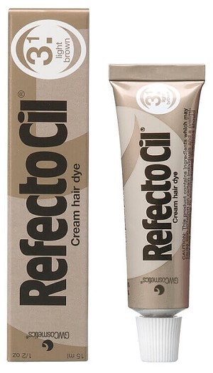 Refectocil Hair tint dye Light Brown # 3.1
