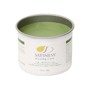 Satiness Hard Wax with Azulen 14oz (Can) Strip-less wax